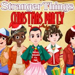 Stranger Things Christmas Party