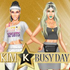 Kim K Busy Day
