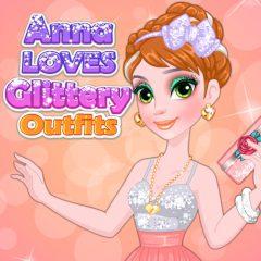 Anna Loves Glittery Outfitsd