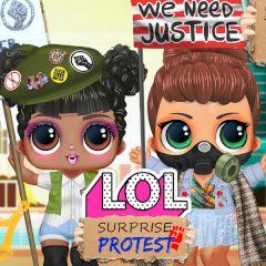 LOL Surprise Protest