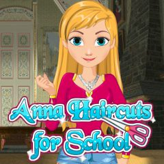Anna Haircuts for School