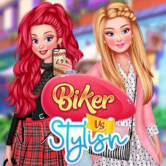 Biker vs Stylish