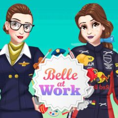 Belle at Work