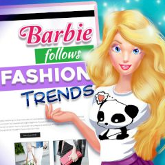Barbie Follows Fashion Trends