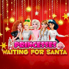 Princesses Waiting for Santa