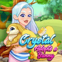 Crystal Adopts a Bunny