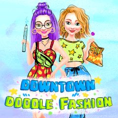 Downtown Doodle Fashion