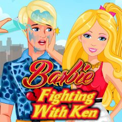 Barbie Fighting with Ken