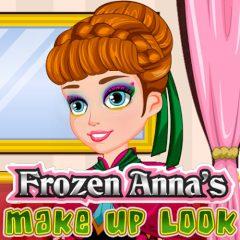 Frozen Anna's Make up Look