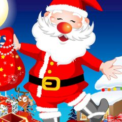 Santa Claus Ready For Christmas