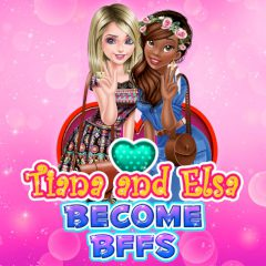 Tiana and Elsa Become BFFs
