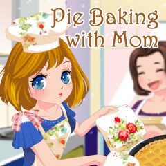 Pie Baking with Mom