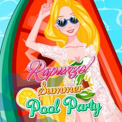 Rapunzel Summer Pool Party