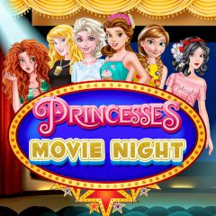 Princesses Movie Night