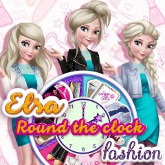 Elsa Round the Clock Fashion