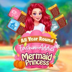 All Year Round Fashion Addict Mermaid Princess