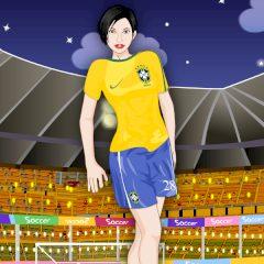 Soccer Girl Dress up
