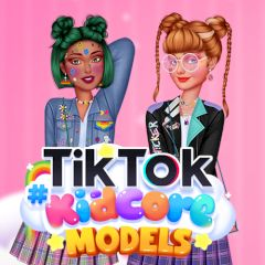 TikTok #Kidcore Models
