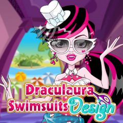 Draculaura Swimsuits Design
