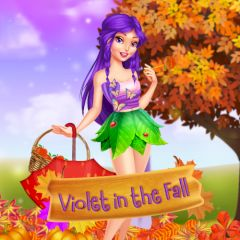 Violet in the Fall