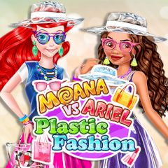 Moana vs Ariel Plastic Fashion