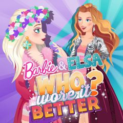 Barbie and Elsa: Who Wore it Better?