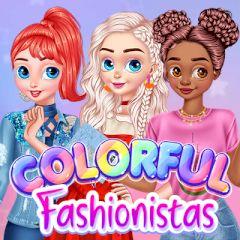 Colorful Fashionistas