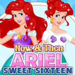 Now & Then Ariel Sweet Sixteen