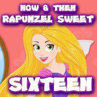 Now & Then Rapunzel Sweet Sixteen