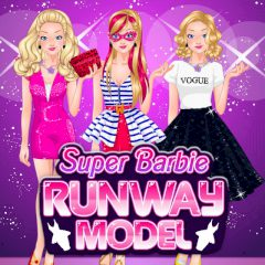 Super Barbie Runway Model