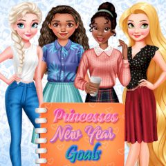 Princesses New Year Goals