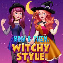 Now & Then Witchy Style
