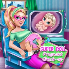 Super Doll Pregnant Check-up