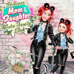 Princess Mom & Daughter Cute Family Look