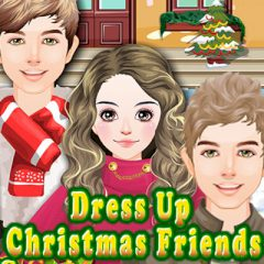 Dress up Christmas Friends