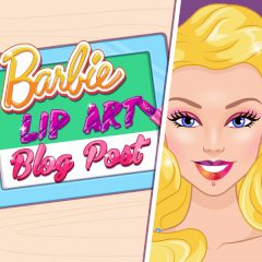 Barbie Lip Art Blog Post
