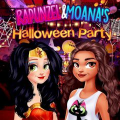 Rapunzel & Moana's Halloween Party