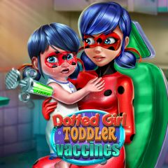 Dotted Girl Toddler Vaccines