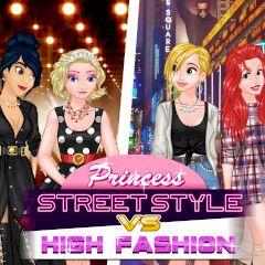 Princess Street Style vs High Fashion