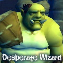 Desperate Wizard