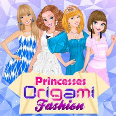 Princesses Origami Fashion