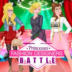Princesses Fashion Designers Battle