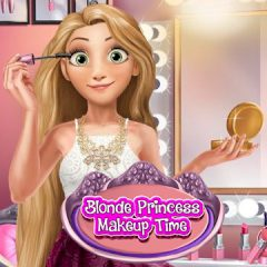 Blonde Princess Makeup Time