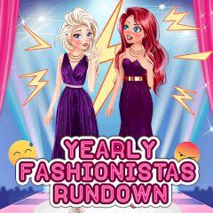 Yearly Fashionistas Rundown