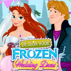 Design Your Frozen Wedding Dress