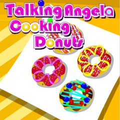 Talking Angela Cooking Donuts