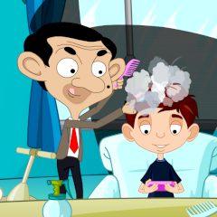 Troubles in hair salon: Mr. Bean