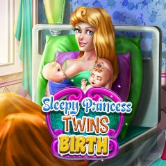 Sleepy Princess Twins Birth