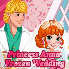 Princess Anna Frozen Wedding