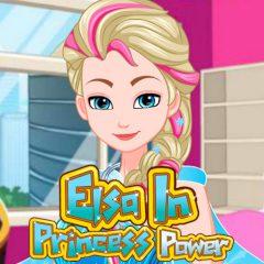 Elsa in Princess Power